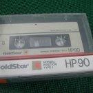 Vintage Goldstar HP90 2x45 min  Audio Cassette