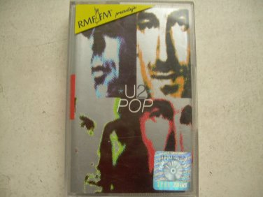 U2 Pop Cassette Polish Release Made In Poland