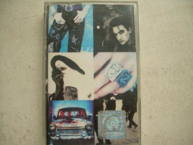 U2 Achtung Baby Cassette Polish Release Made In Poland