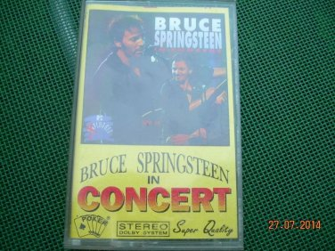 Bruce Springsteen In Concert Polish Release Cassette Made In Poland