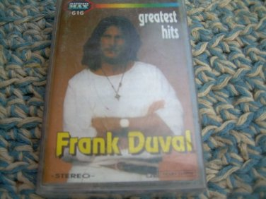 Frank Duval Greatest Hits Cassette Polish Release Made In Poland