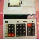 Vintage SIGMA TRS 6212 PD Desktop Printing  VFD Calculator Made In Japan