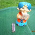 Vintage USSR Soviet Russian Rubber Toy Khottabych About 1974