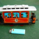 Vintage  Soviet USSR Russian Toy Tin Train Tramway
