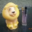 Vintage USSR Soviet Russian Rubber Toy Lion About 1974