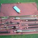 Vintage Russian Soviet Ussr Precision Engineering Drafting Tool Set НЧК-14-1-01