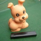 Vintage USSR Soviet Russian Rubber Toy Dog Puppy About 1974