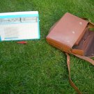 Antique Soviet Russian Ussr AM LW Radio Alpinist The First  1966 + carrying case