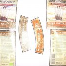 Stortebeker German Beer Bottles Labels Set Of 2