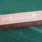 NOS Vintage Russian USSR Medical Hypodermic Glass Syringe 2ml + Needle 1986 #4
