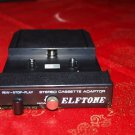 LOT-106 ANTIQUE  ELFTONE REEL TO REEL STEREO CASSETTE ADAPTER MADE IN JAPAN