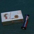 # VINTAGE SOVIET RUSSIAN USSR ALUMINUM TIN BOX FOR SEWING NEEDLES HEDGEHOG