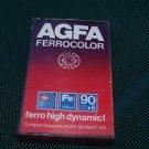 VINTAGE AGFA FERROCOLOR 90 + 6 AUDIO CASSETTE