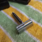 RARE VINTAGE SOVIET RUSSIAN USSR QUALITY RUGGED HEAVY SAFETY RAZOR LENINGRAD