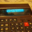 VINTAGE SOVIET RUSSIAN  USSR ELEKTRONIKA MK 44 VFD  DESKTOP CALCULATOR 1989