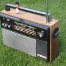 Antique Soviet Russian USSR  Radio OKEAN 203  Super Rare LW AM UKW 5SW 1972