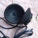 Vintage Soviet Russian USSR Military Ham Headphones With Mic 50 OHMS Bakelite
