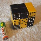 VINTAGE USSR SOVIET RUSSIAN PUZZLE LOGIC GAME RUBIK CUBE DOMINOES  BRAIN TEASER