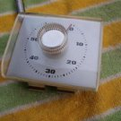 Rare Vintage USSR Soviet Russian Timer  White NOS