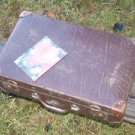 SOVIET RUSSIAN USSR ANTIQUE LUGGAGE TRAVEL BAG  ABOUT 1940
