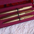 ANTIQUE MADE IN USSR SOVIET RUSSIA WRITING TOOLS SET PENCIL BALL & FOUNTAIN PENS