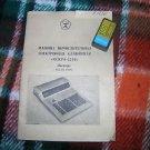 VINTAGE SOVIET RUSSIAN USSR  CALCULATOR ISKRA 2210 MANUAL IN RUSSIAN