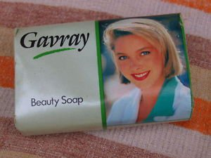 VINTAGE SOAP GAVRAY BEAUTY SOAP MADE IN ENGLAND ABOUT 1980 NOS