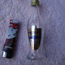 COLLECTIBLE EMPTY MINI 5CL.GLASS BOTTLE GREEK 7 STARS METAXA BRANDY
