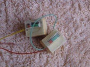 Vintage Soviet Ussr VU Meters Matched Pair