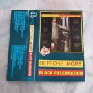 DEPECHE MODE BLACK CELEBRATION  CASSETTE MADE IN POLAND