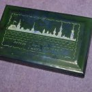 ANTIQUE SOVIET RUSSIAN SELF INKING STAMP PAD TIN BOX MADE IN USSR  ABOUT 1950