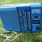 VINTAGE RARE SOVIET RUSSIAN USSR PORTABLE RADIO TURIST RP 315  LW AM