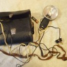 Antique  Soviet Russian USSR Photo Flash Lamp In Case