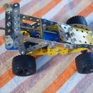 VINTAGE MECANO ASSEMBLED RACE CAR FROM 1990