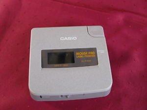 Vintage Casio Mouse Pad Label Printer ML-P100