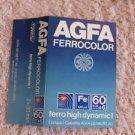 Vintage AGFA FerroColor High Dynamic I 60+6 Blue Audio Cassette Tape  MC