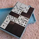 VINTAGE  SOVIET USSR DNEPROPETROVSK DOMINO TRAVEL GAME COMPLETE SET