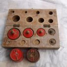 Antique Kitchen Or Store Scales Weights Set From Germany