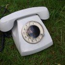 VINTAGE RARE SOVIET RUSSIAN USSR ROTARY DIAL PHONE GREY COLOR TAN-70 1975 No.2
