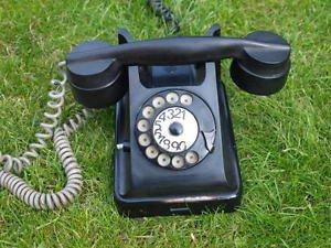 ANTIQUE SOVIET RUSSIAN USSR ROTARY DIAL PHONE BAGTA-50 BAKELITE no. 2