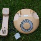 RARE VINTAGE SOVIET CZECHOSLOVAKIA ROTARY DIAL PHONE TESLA COCAO COLOR