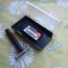 Vintage Soviet Russian Ussr Safety Razor LUCH 2  In Original Case
