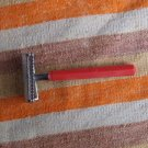 RARE VINTAGE SOVIET RUSSIAN USSR CURVED EDGE SAFETY RAZOR #27