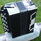 RARE ANTIQUE SOVIET RUSSIAN USSR BUTTON ACCORDION BAYAN MOSCOW FACTORY 100 BASS