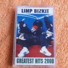 LIMP BIZKIT GREATEST HITS 2000 Audio Cassette Unofficial Release Russia