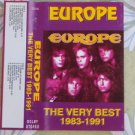 EUROPE THE VERY BEST OF 1983 - 1991 UNOFFICIAL AUDIO  CASSETTE MADE IN RUSSIA