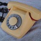RARE VINTAGE SOVIET CZECHOSLOVAKIA ROTARY DIAL PHONE TESLA