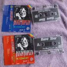 Janis Joplin ‎ In Concert Part I & 2 Audio Cassettes Made In Poland Ultra Rare
