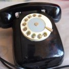 ANTIQUE RARE SOVIET USSR ROTARY DIAL PHONE VEF TA-60 FROM 1965