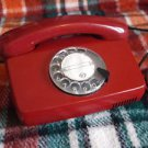 VINTAGE  RARE LATVIAN  ROTARY DIAL PHONE VEF TAp-791